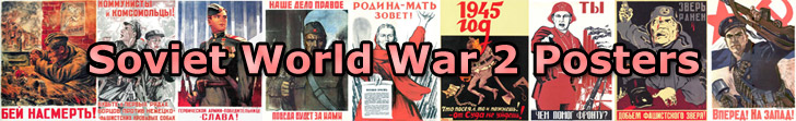 Russian World War 2 Posters