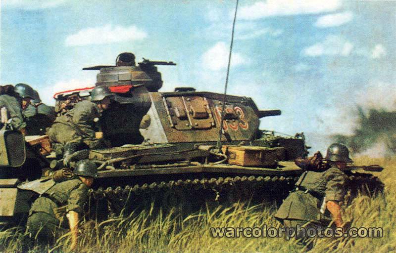 22 June 1941 - Operation Barbarossa begins... - World War 2 Color ...