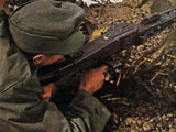 Gebirgsjäger with MG 42