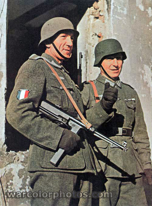 French Legion soldiers