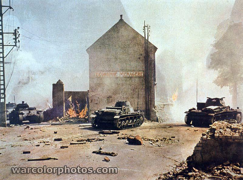 Panzerkampfwagen I - World War 2 Color Photo